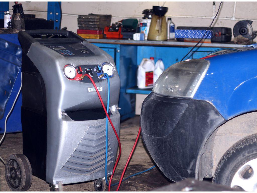 Ремонт кондиционера, заправка - автосервис Корея Plus -1